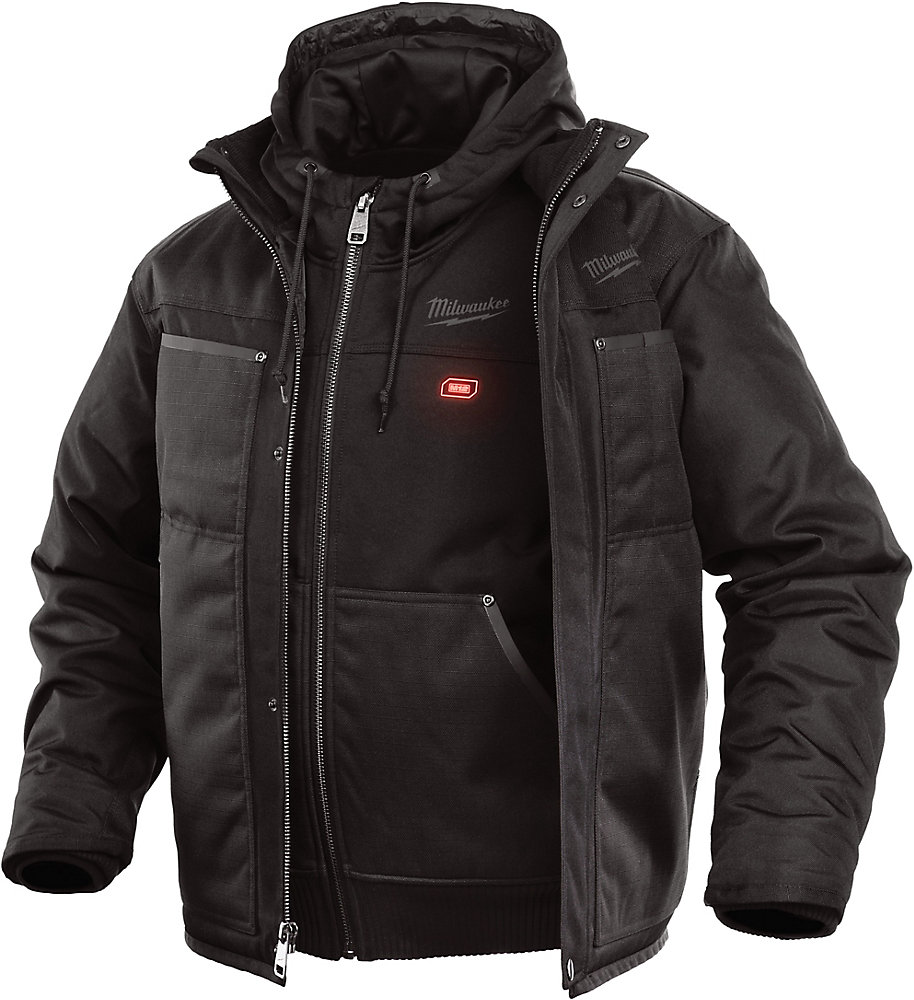 4fc957797 M12 Heated 3-in-1 Jacket Only - Black - Small