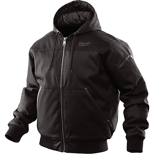 Hooded Jacket - Black M - Medium