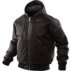 Hooded Jacket - Black 2X - 2XL