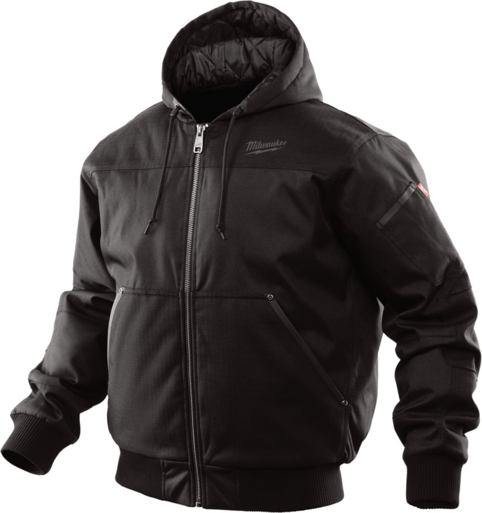 Milwaukee Tool Hooded Jacket - Black 3X - 3XL
