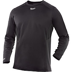 WorkSkin Cold Weather Base Layer - Gray L - Large