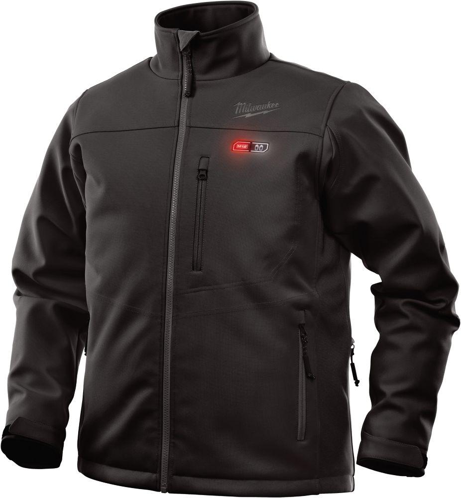 Milwaukee Tool Large M12 12-Volt Lithium-Ion Cordless Black Heated Jacket (Jacket-Only)