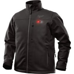 d6fd903b30 Milwaukee Tool Large M12 12-Volt Lithium-Ion Cordless Black Heated Jacket ( Jacket