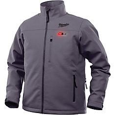 Veste chauffante sans fil M12 gris M - veste seulement