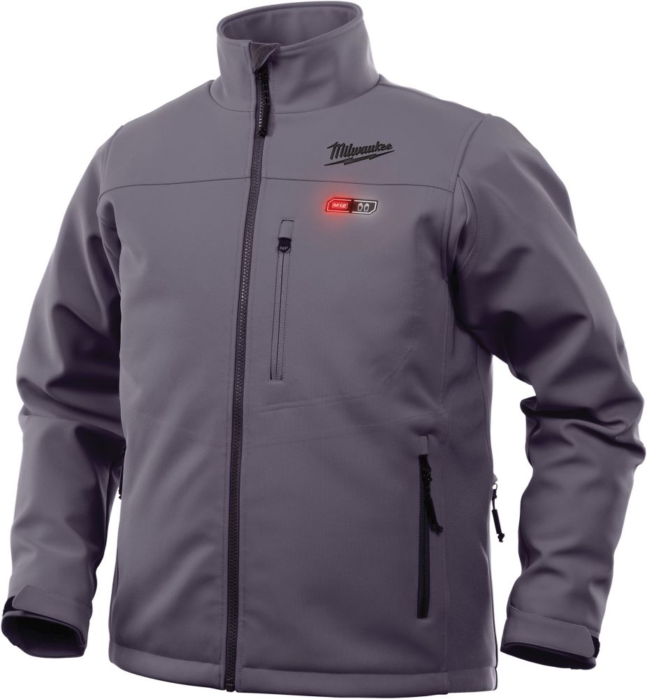 M12 Heated Jacket Only - Gray - Large