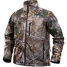 Veste chauffante sans fil de style camouflage Realtree Xtra M12 - M veste seulement