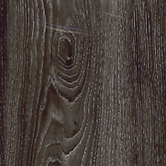 7.5 inch x 47.6 inch Aspen Oak Black Luxury Vinyl Plank Flooring (Sample)