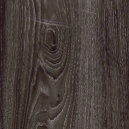 Allure Locking 7.5-inch x 47.6-inch Aspen Oak Black Luxury Vinyl Plank Flooring (Sample)