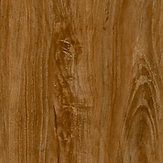 7.5 inch x 47.6 inch Vintage Oak Brown Luxury Vinyl Plank Flooring (Sample)