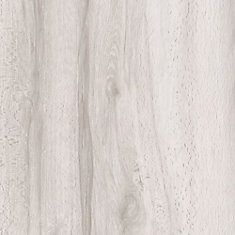 7.5 inch x 47.6 inch White Maple Resilient Vinyl Plank Flooring (Sample)
