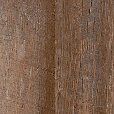 7.5 inch x 47.6 inch 2-Strip Rustic Hickory Luxury Vinyl Plank Flooring (Sample)