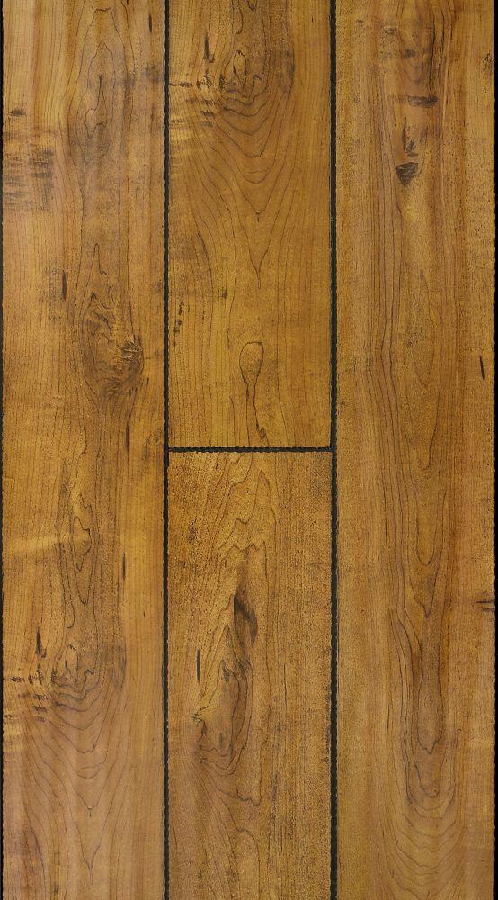 12mm+2mm Érable Timberland Stratifié - (17.26 pi. carré par caisse)