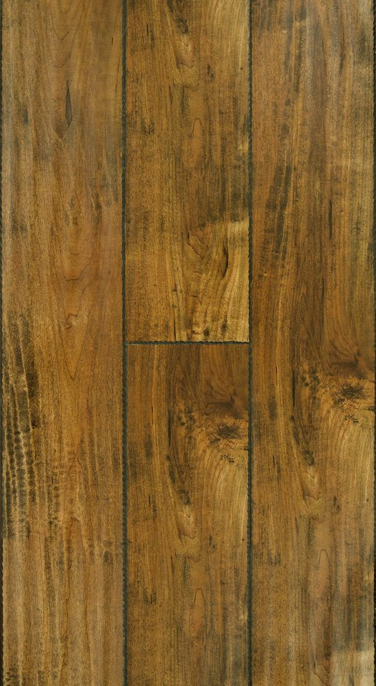 Power Dekor 12mm+2mm Brass Maple Laminate Flooring (17.26 sq. ft. / case)