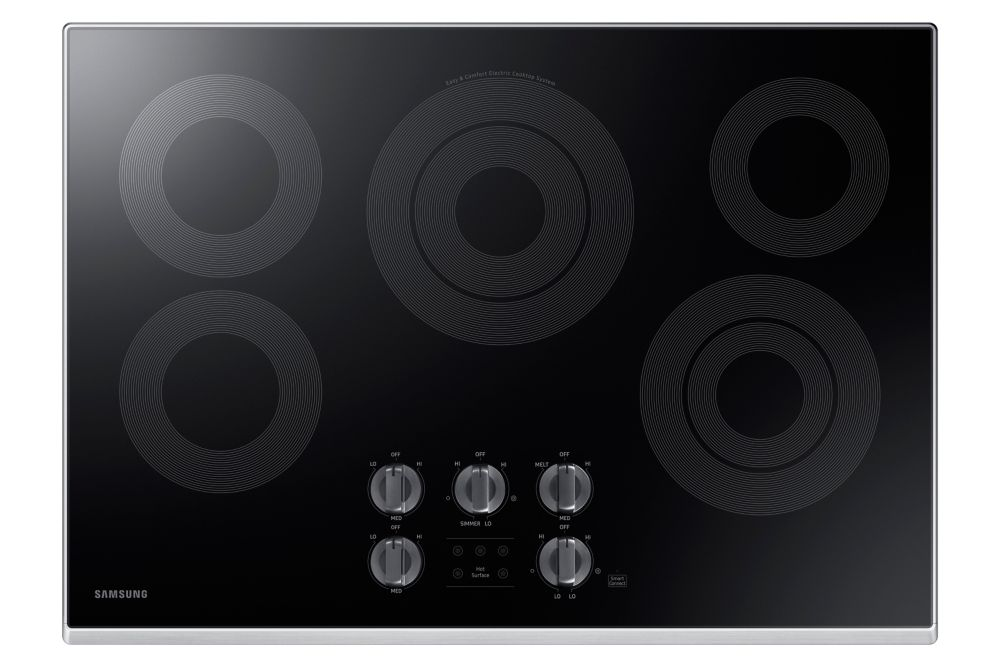 Samsung 30 Inch Smooth Surface Electric Cooktop - NZ30K6330RS