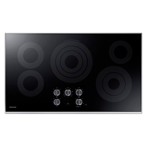 36 Inch Smooth Surface Electric Cooktop - NZ36K6430RS