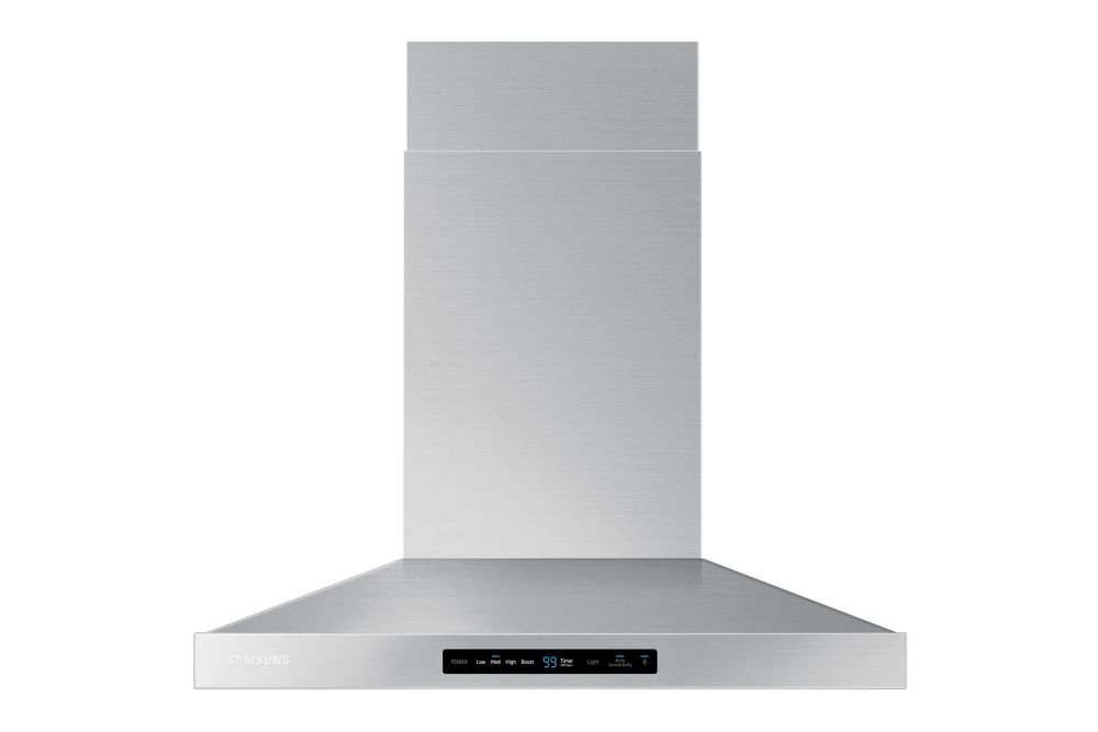 30-inch Wall Mount Range Hood with Bluetooth in Stainless Steel