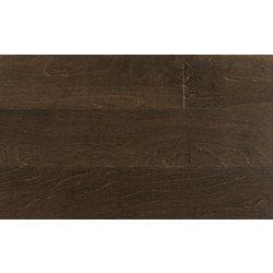 Plancher encliquetable, bois d'ingéniérie, 4 7/8 po de large, Bouleau Espresso, 25,83 pi2/boîte