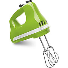 5-Speed Ultra Power Hand Mixer in Green Apple