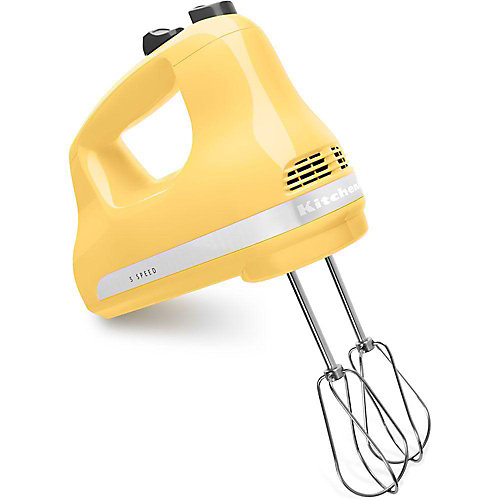 5-Speed Ultra Power Hand Mixer in Majestic Yellow
