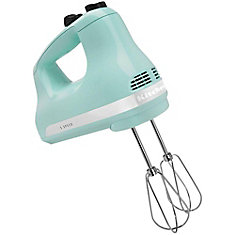 5-Speed Ultra Power Hand Mixer in Ice