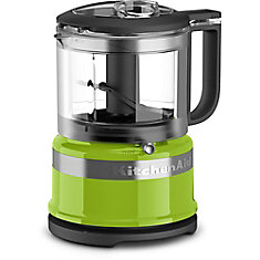 3.5 Cup Mini Food Processor in Green Apple