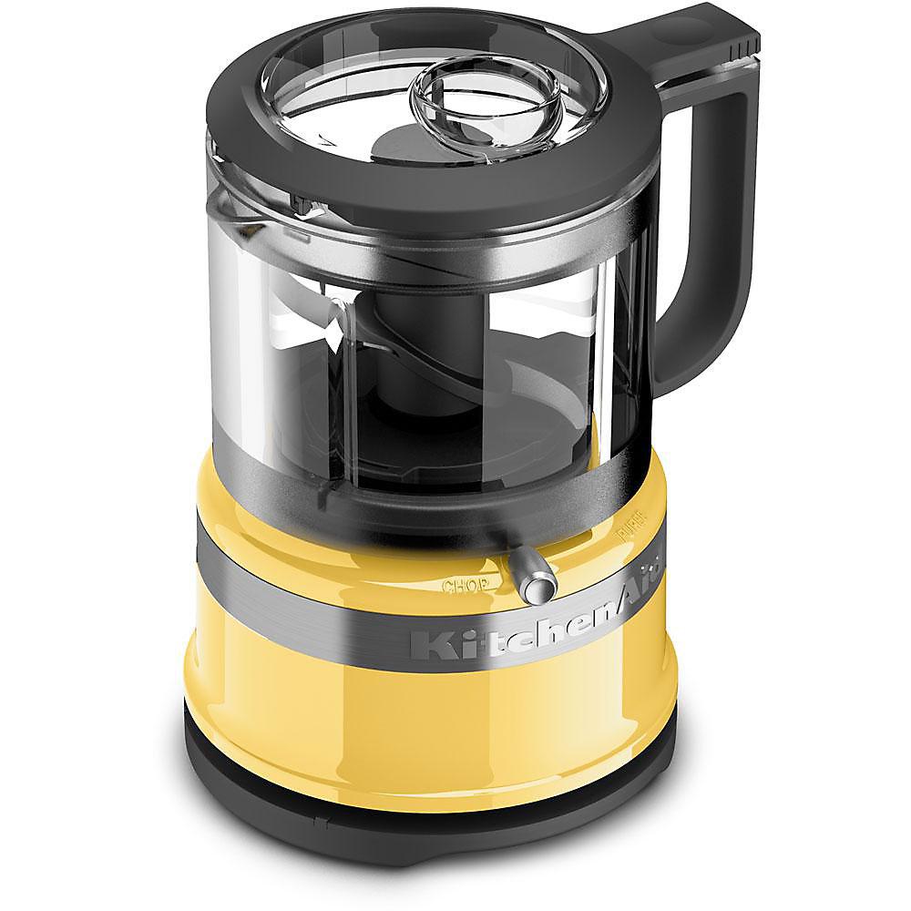 Kitchenaid 3 5 Cup Mini Food Processor In Majestic Yellow