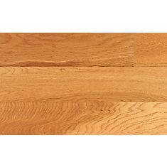 Plancher encliquetable, bois d'ingénierie, 4 7/8 po de large, Chêne Auburn, 25,83 pi2/boîte