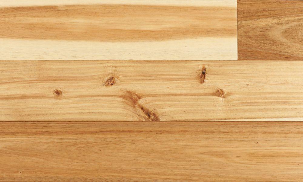 """4-3/4"""" Acacia Naturel Clic Ingénierie - (24.8 pi. carré par caisse)"""