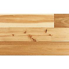 Plancher encliquetable, bois d'ingénierie, 4 3/4 po de large, Acacia naturel, 24,8 pi2/boîte