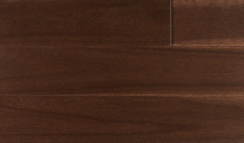 Plancher encliquetable, bois d'ingénierie, 4 3/4 po de large, Acacia exotique, 24,8 pi2/boîte