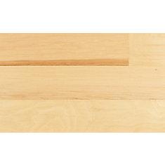 Plancher encliquetable, bois d'ingénierie, 4 7/8 po de large, Caryer naturel, 25,83 pi2/boîte