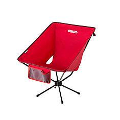 Chaise de camping géante Compaclite, acier, rouge