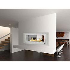 Santa Cruz 2-Sided Fireplace