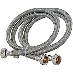 3/4  Inch FHT x 3/4  Inch FHT Washing Machine Hose - Pair