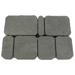Cindercrete Old Town Paver in Charcoal