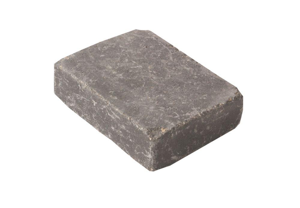 barkman concrete ltd. 8-inch x 6-inch Roman Paver in Charcoal