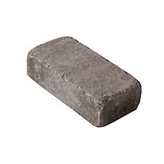 8-inch x 4-inch Roman Paver in Charcoal