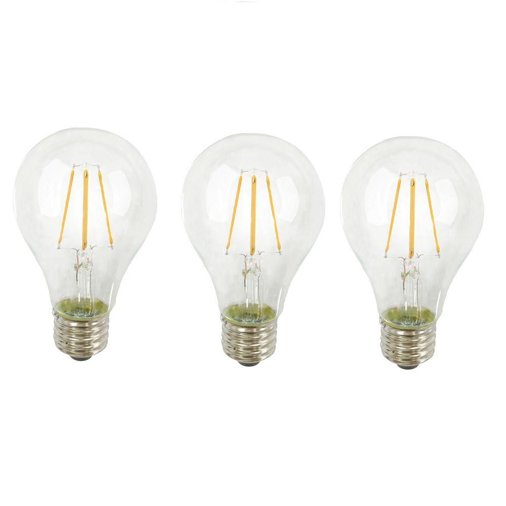 A19 Led Filament Bulb 4 Watt Dimmable 40w Equiv 470: Philips 15W T7 Appliance Intermediate Clear