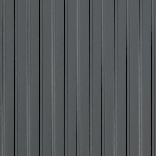 Rib Standard Grade 7.5 ft. x 17 ft. Slate Grey Garage Floor Cover and Protector