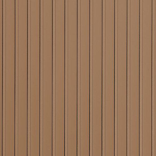 7.5 Feet x 17 Feet Standard Grade Sandstone Garage Floor Cover and Protector