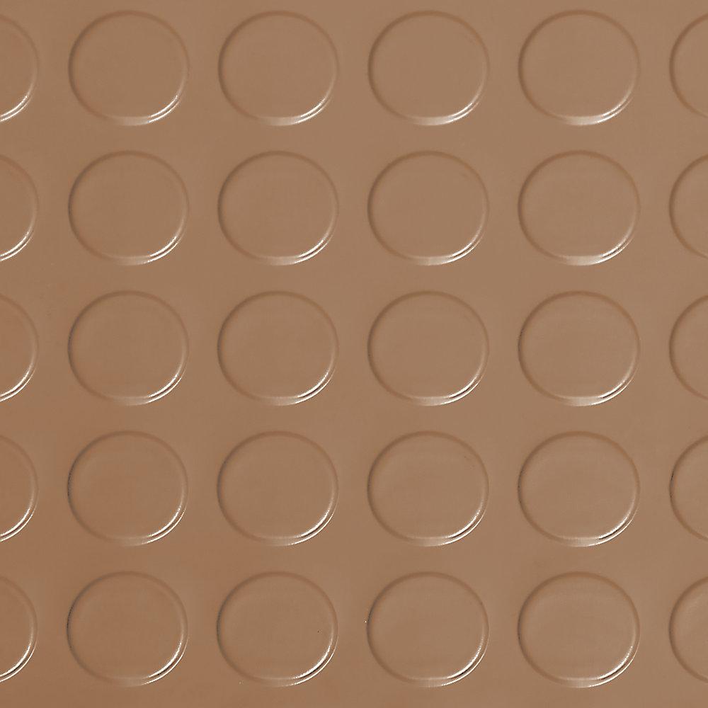 Revêtement protecteur pour garages de qualité commerciale, 7,5 x 17 pi, grès
