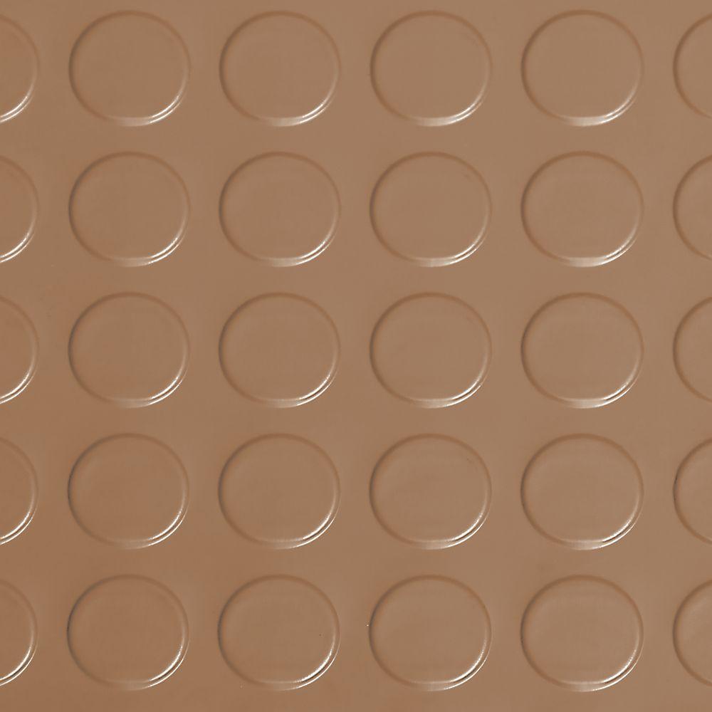 7,5 x 17pi � Revêtement protecteur à relief pastilles G-Floor de qualité commerciale, grès