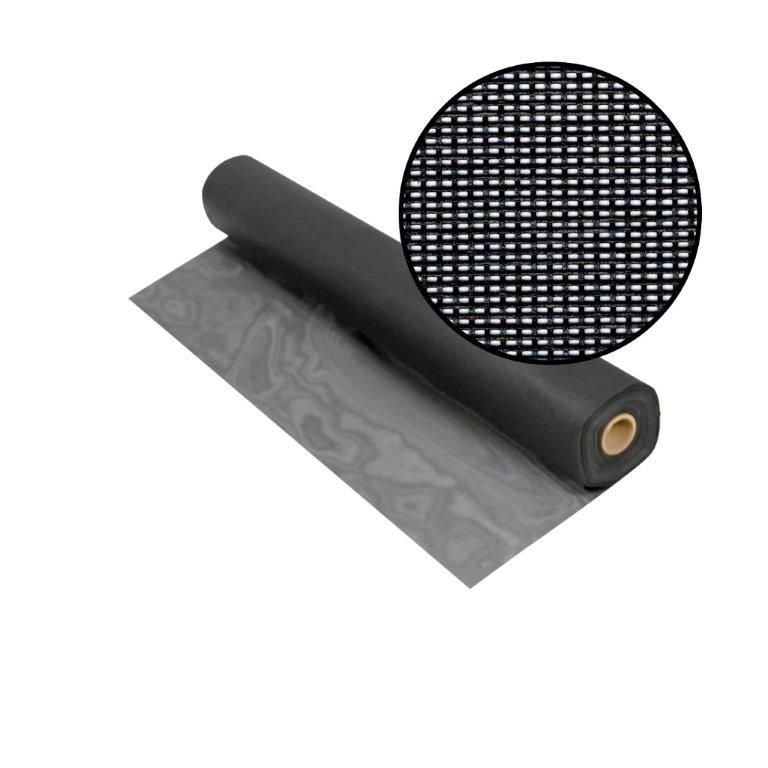 Solar Insect Screen Charcoal 72 Inch x100 Feet