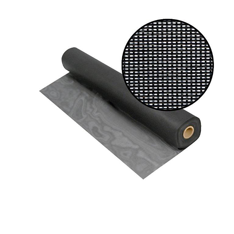 Solar Insect Screen Charcoal 84 Inch x100 Feet
