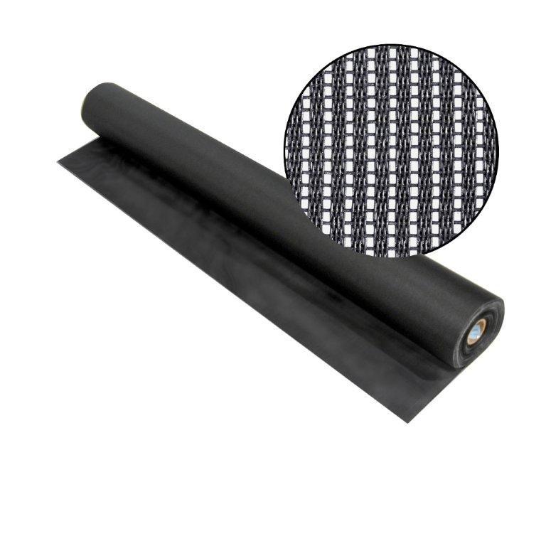 """SunScreen charbon 48"""" x 100'"""