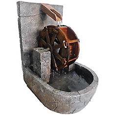 Water Wheel Fountain