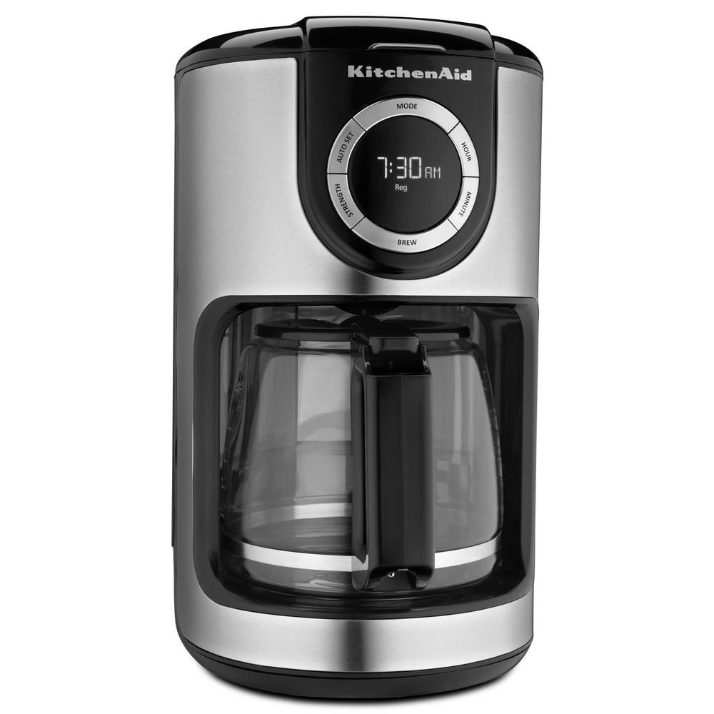 12-Cup Glass Carafe Coffee Maker