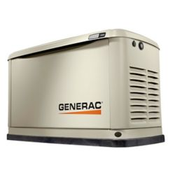Generac 11,000W (LP)/10,000W (NG) Air Cooled Standby Generator with Wi-Fi