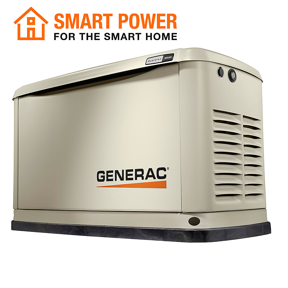 20,000W LP / 18,000W NG Air Cooled Standby Generator with Wi-Fi