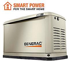 Generac Générateur de réserve de gaz naturel de propane de 18,000W / 18,000W avec Wi-Fi